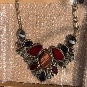 Chloe + Isabel Jewelry - New!  C+I Rebel Red Tiger Eye statement collar